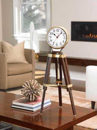 Rowayton Chiming Mantel Clock by Bulova