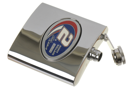 Rusty Wallace 6 Ounce Steel Flask