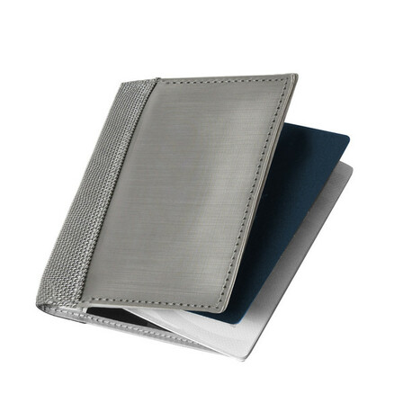 Stainless Steel RFID Blocking Passport Cover