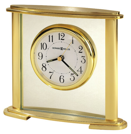 Stanton Oval Base Table Clock by Howard Miller