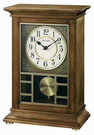 Stratford Chiming Mantel Clock by Bulova