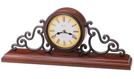 Strathburn Mantel Clock By Bulova