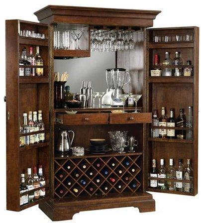Barossa Valley Wine & Bar Cabinet by Howard Miller