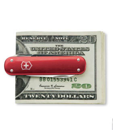 Personalized Swiss Army Knife Money Clip