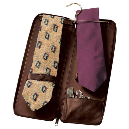 The Leather Tie Caddy