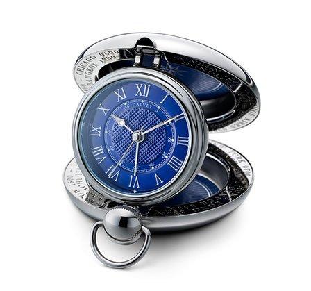 Voyager Travel Alarm Clock by Dalvey