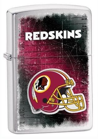 Washington Redskins NFL Brushed Chrome Zippo Lighter - ID# Z772