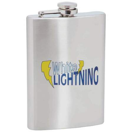 White Lightning Flask