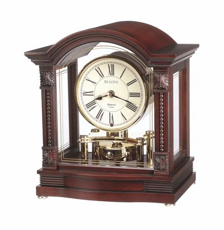 Bardwell Chiming Mantel Clock by Bulova