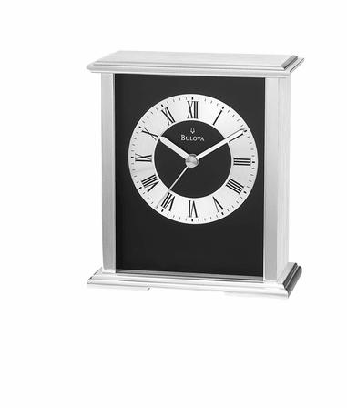 Baron Tabletop Clock by Bulova
