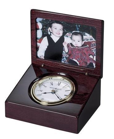 Hayden Desktop Photo Clock by Howard Miller - Discontinued