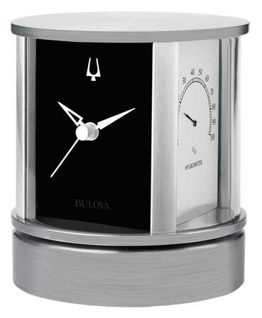 President Desktop Clock By Bulova