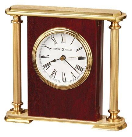 Rosewood Encore Bracket Table Clock by Howard Miller