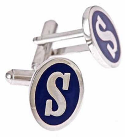 """S"" initial cufflinks - Discontinued"