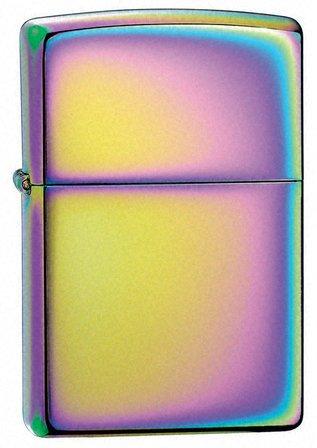 Spectrum Zippo Lighter - Free Engraving - ID# 151
