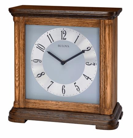 Woodbury Chiming Table Clock by Bulova