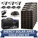Inergy Apex Gold Linx Lightweight Solar Generator Kit