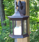 Solar Sconce - Flickering Solar Candle