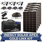Inergy Apex Gold Linx Lightweight Solar Generator Kit