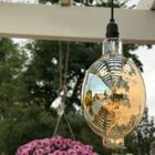 Oversized Oval Battery Operated Vintage LED Light