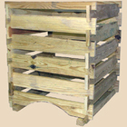 Bosmere K771 Wood Compost Bin