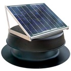 Solar Attic Fan - 20 Watts - 2000 sq ft - Black