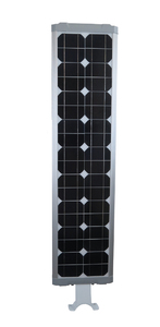 40 Watt Solar LED Street Light for Gardens, Courtyards, Parks and General Area Lighting - Pole Not Included