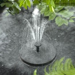 Solar Sunjet 150+ Floating Solar Fountain for Birdbaths, Gardens, Ponds and Yards