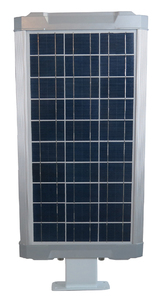 20 Watt Solar LED Street Light for Gardens, Courtyards, Parks and General Area Lighting - Pole Not Included