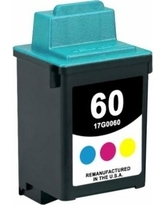 Lexmark 17G0060 #60 Compatible Inkjet Cartridge (275 page yield) - Color