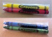 2-Pack Premium Cello Crayons (1,000 packs/case)