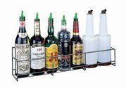 Wire Speed Rack Bottle Holder - (6) Qt/Ltr Bottles