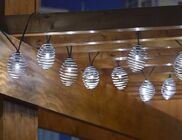 Solar Curvet Silver String Lights - Professional Series