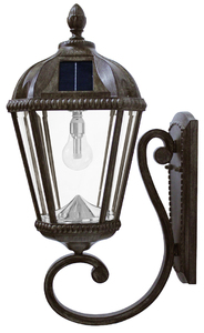 Royal Wall Mount Solar Lamp with GS-Solar LED Light Bulb