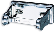 Locking Toilet Tissue Dispenser Single Roll - Chrome