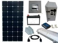 Earthtech Products Solar Power & Lighting Kit for Sheds, Garages & Remote Cabins - 55 Amps