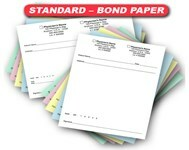 Standard - 24# Bond Paper Prescription Pads