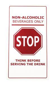 Non- Alcoholic Bar Mat