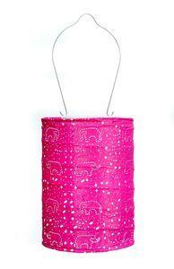 Soji Stella Dream Solar Lantern - Raspberry