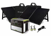 Goal Zero Yeti 1400 Lithium Power Station with 2 Boulder 100 Solar Briefcases