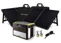 Goal Zero Yeti 1400 Lithium Power Station with 2 Boulder 100 Solar Briefcases