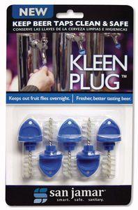 Kleen Plug Beer Tap Plug - 5 Plugs Per Blister Pack