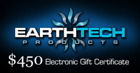 $450 Earthtech Products Gift Certificate