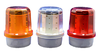 Revolving Magnetic Solar Beacon Light