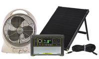 Goal Zero Yeti 400 Lithium Solar Generator with Cooling Fan and Ventilation Kit