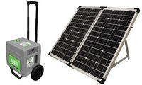 UPG Adventure Power Solar Generator Kit 1800 Watt Portable Power System with 80 Watt Solar Panel