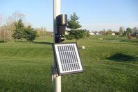 Solar Flag Pole Light - 12 Bright LEDs for Bright Illumination