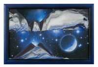 Sand Art Picture - Blue Planet By Klaus Bosch