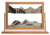 Sahara Sand Art by Klaus Bosch - 32 x 22 Inches