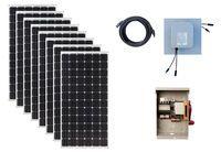 2640 Watt Solar Panel Expansion Kit for Humless Generator Systems